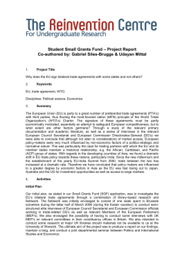 Student Small Grants Fund – Project Report