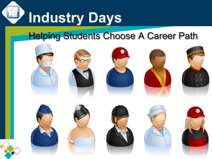 Industry Days Helping Students Choose A Career Path