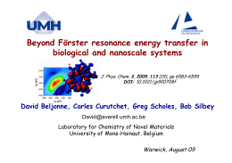 Beyond Förster resonance energy transfer in biological and nanoscale systems