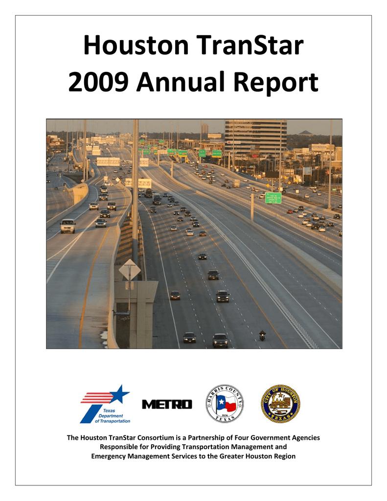Houston Transtar 2009 Annual Report