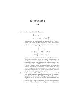 Solutions Exam 1 14.05