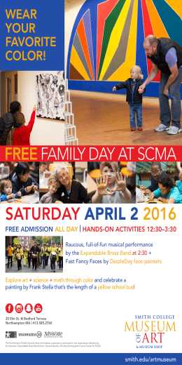FREE 2016 FAMILY DAY AT SCMA SATURDAY
