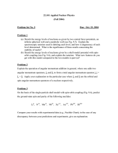 22.101 Applied Nuclear Physics (Fall 2004) Problem Set No. 5