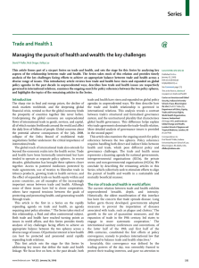 Series Trade and Health 1