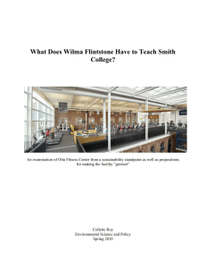 What Does Wilma Flintstone Have to Teach Smith College?