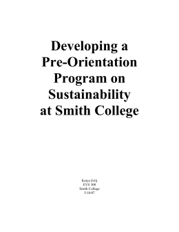 developing orientation program Pre-orientation programs open pre-orientation programs close pre  » emerging leaders program  opportunities for leadership development page beginning on july 6 .