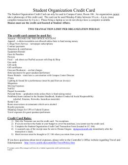 University of California OFAC Compliance Form for Vendors