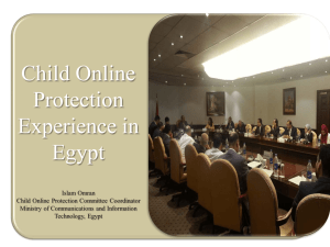 Child Online Protection Experience in