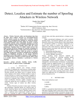 Detect, Localize and Estimate the number of Spoofing