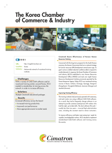 The Korea Chamber of Commerce & Industry case study