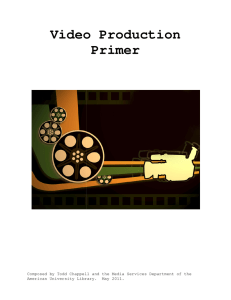 Video Production Primer