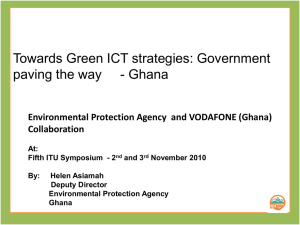 Towards Green ICT strategies: Government Collaboration