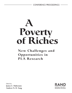 A Poverty of Riches R