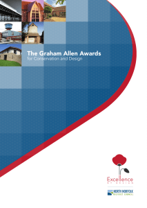 The Graham Allen Awards Exce  ence for Conservation and Design