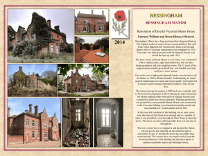2014 BESSINGHAM BESSINGHAM MANOR