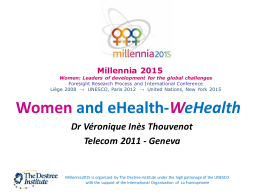 Women  and eHealth- W