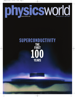 100 SUPERCONDUCTIVITY THE FIRST