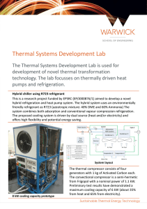 Thermal Systems Development Lab
