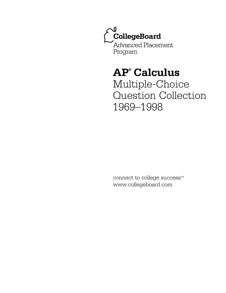 66 1997 Ap Calculus Ab Solutions