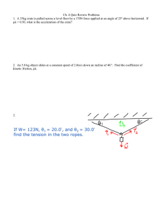 Ch. 4 Quiz Review Problems