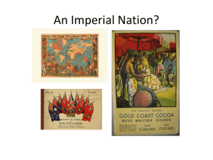 An Imperial Nation?