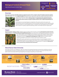 Biological Control of Insect Pests Overview