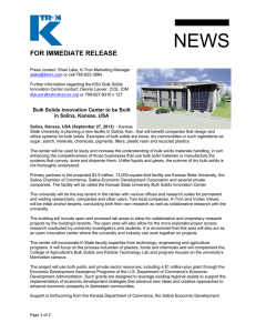 NEWS  FOR IMMEDIATE RELEASE