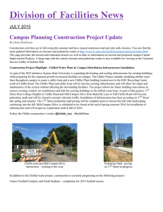 Division of  Facilities News  Campus Planning Construction Project Update JULY 2015