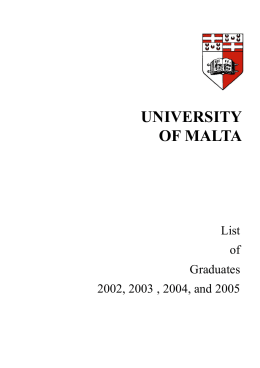 """ll.d. thesis university of malta Thesis on """"legal aspects of the right lld degree conferred by the university of malta after how to write a good summary of a thesis thesis university of malta."""