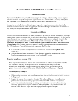 honors application writing sample guidelines evaluation rubric application to the university of california uc private colleges and