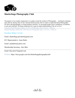 Shutterbugs Photography Club