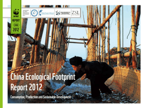 China Ecological Footprint Report 2012 20