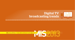 Digital TV broadcasting trends M