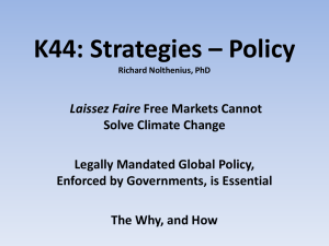 K44: Strategies – Policy