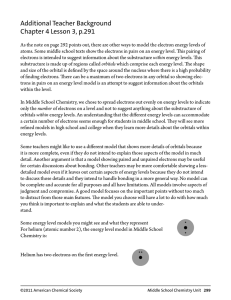 Additional Teacher Background Chapter 4 Lesson 3, p.291