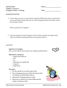 Activity Sheet  Name __________________ Chapter 2, Lesson 4