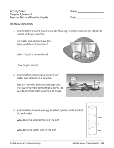 Activity Sheet  Name __________________ Chapter 3, Lesson 5