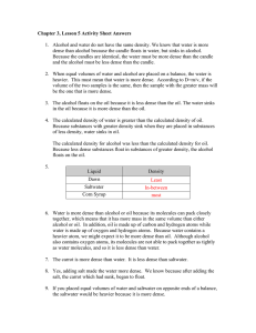 Chapter 3, Lesson 5 Activity Sheet Answers
