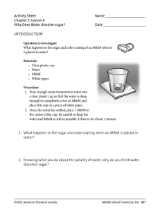 Activity Sheet  Name ____________________ Chapter 5, Lesson 4