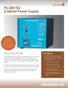 POWER SUPPLY SPD05-10-1B SPD05101B