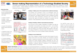 Sense-making Representation of a Technology-Enabled Society