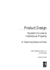 abc Product Design Student's Guide to Intellectual Property