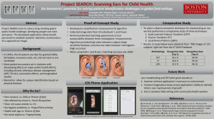 Project SEARCH: Scanning Ears for Child Health