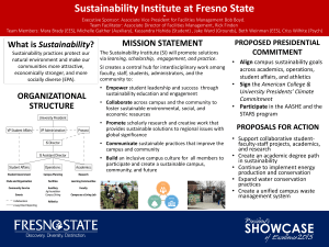 Sustainability Institute at Fresno State