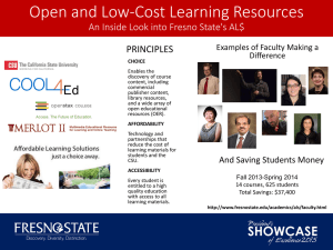Open and Low-Cost Learning Resources PRINCIPLES