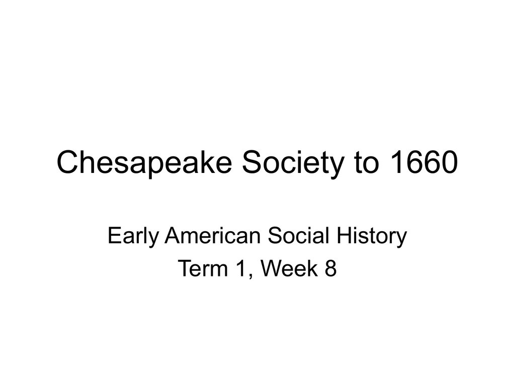 chesapeake society