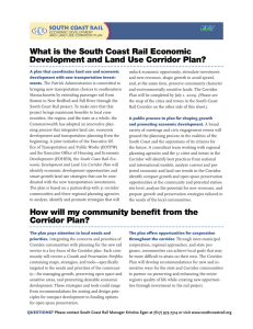 What is the South Coast Rail Economic