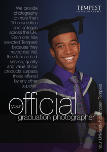 We provide photography to more than 90 universities
