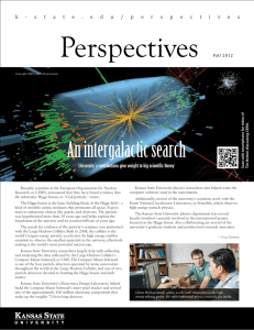 Perspectives An intergalactic search University's contributions give weight to big scientific theory