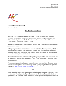 September 17, 2015 FOR IMMEDIATE RELEASE: